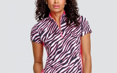 tail short sleeve top pink